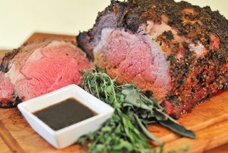 Grilled/Roasted Herb-crusted Standing Rib Roast