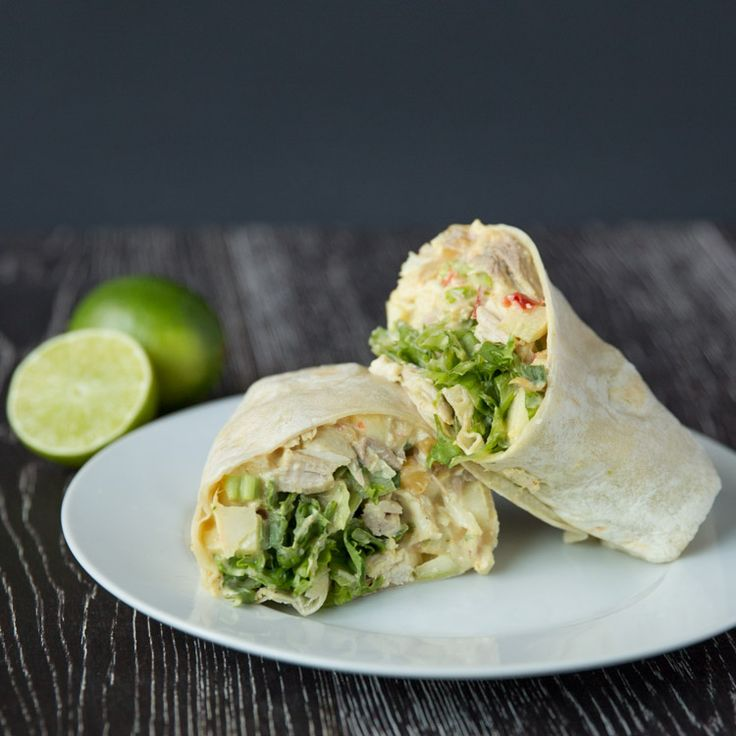 Curried Chicken Salad and Apple Wraps | Recipe
