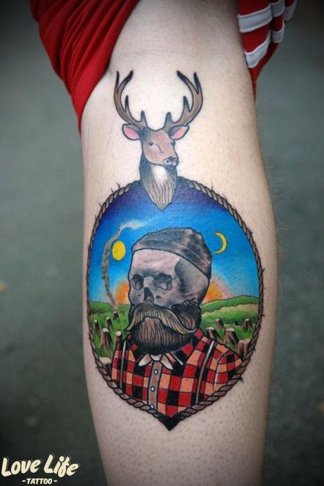 Lumberjack Tatt...