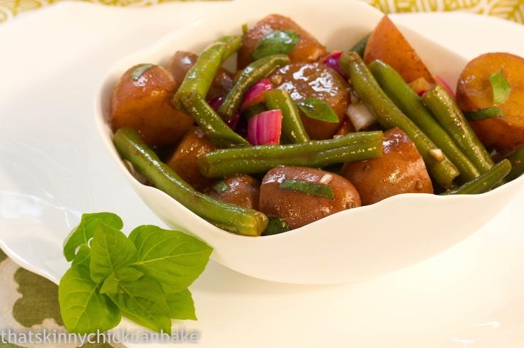 ... chick can bake!!!: Potato and Green Bean Salad with Dijon Vinaigrette
