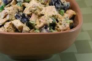 Leftover Chicken Pesto Salad Recipe with Edamame (or Peas) | Recipe