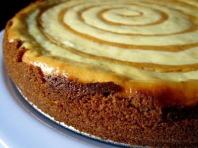 Pumpkin Swirl Cheesecake | sweet things | Pinterest