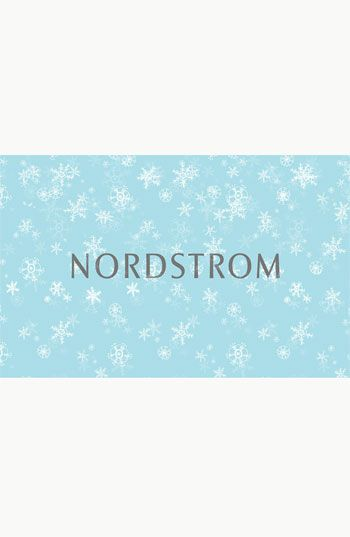 Nordstrom gift card!