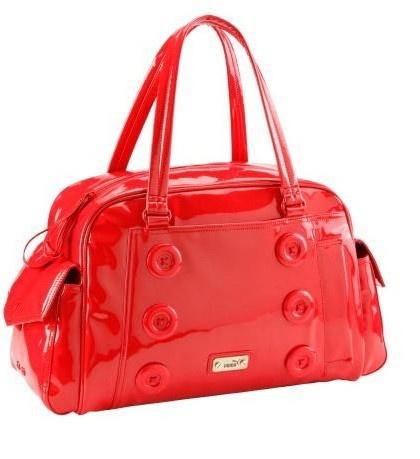 Dámska kabelka PUMA - Splash Handbag Ribbon červená http://www ...