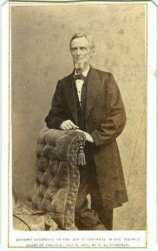 jefferson davis family history