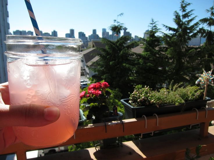 Rhubarb Limeade fizz/flat - Fizz if you use club soda or flat if you ...