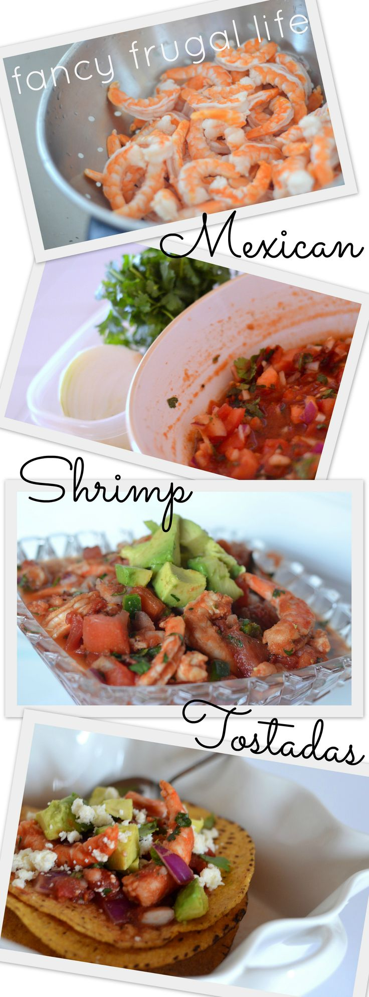 "Mexican ""ceviche"" Shrimp Tostadas Recipe 