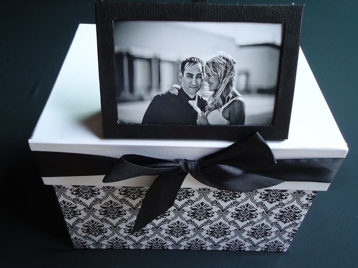 Wedding Gift Boxes Michaels : ... by Carolyn Broughton on Black, Red and White Wedding Inspirations