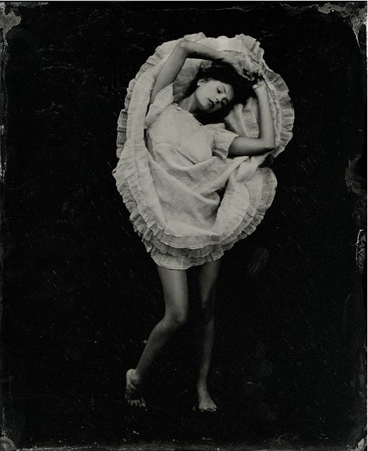 Stunning portraits and nude photography made byKristen Hatgi using the collodion photographic process. The divine surroundings in which Kristen captures her photos combined with her models' sensual and theatrical poses really breath life back into this century old process of making images.