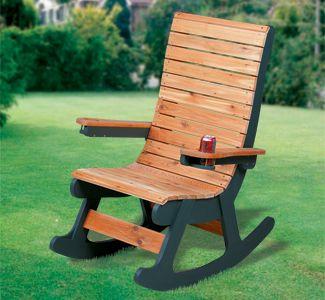 cedar rocker woodworking pattern woodworking pinterest