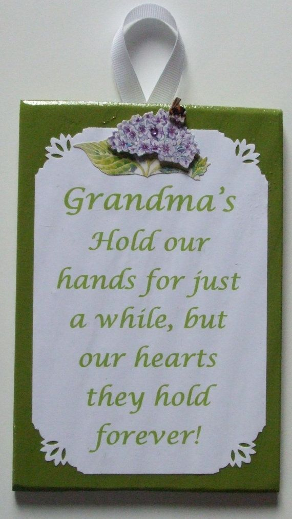 Grandma wall decoration grandma poem grandma sign stocking stuffer