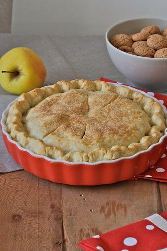 Apple pie agli amaretti   Tarts & Pies & Crumbles   Pinterest