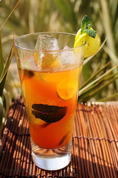 lemon mint iced tea | The Tea Cupboard - Recipes | Pinterest
