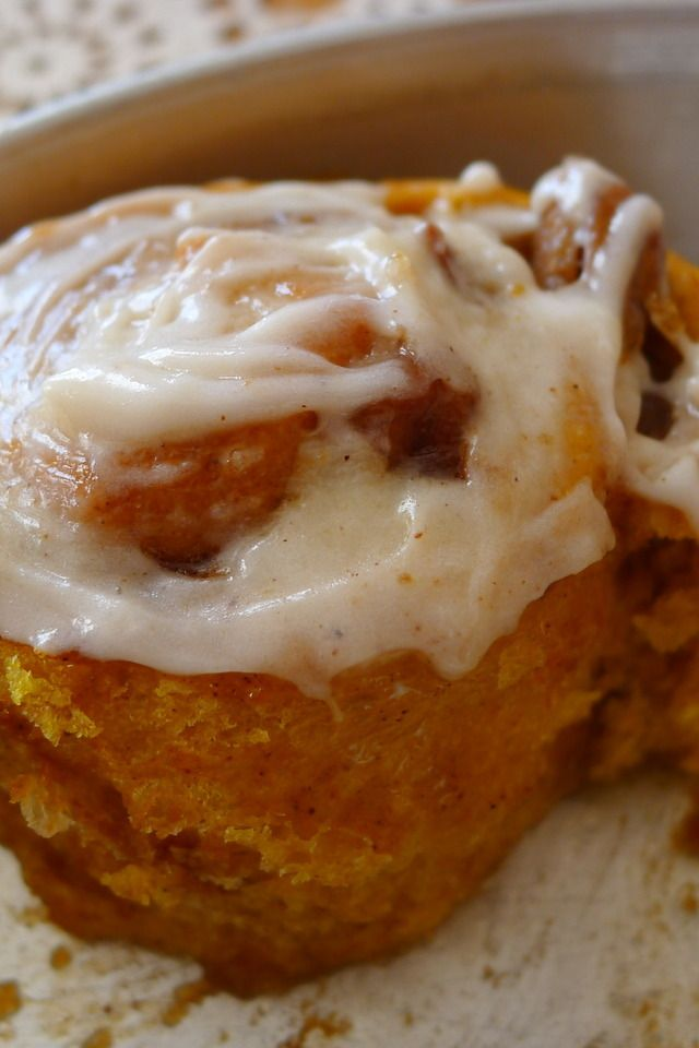 Pumpkin Cinnamon Pecan Rolls | Smorgasbord | Pinterest
