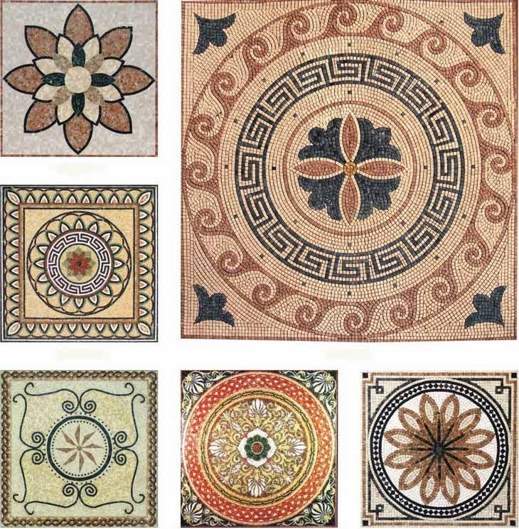 Pin by franziska zum felde on mosaic patterns pinterest for Easy mosaic designs