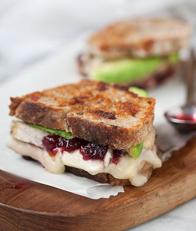 Grilled Cheese International | Turkey, Cranberry & Brie Grilled Cheese