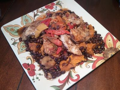 Fat Burning Recipe #4: Slow-Cooker Latin Chicken with Black Beans and ...