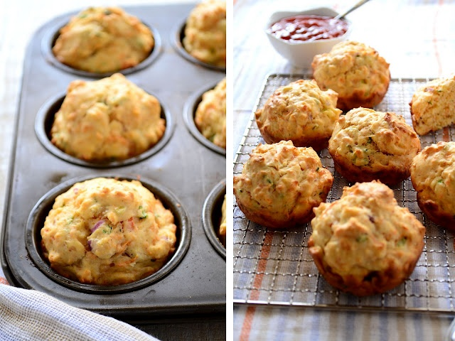Spiced Red Carrot Breakfast Muffins   Health/Low Fat Food   Pinterest