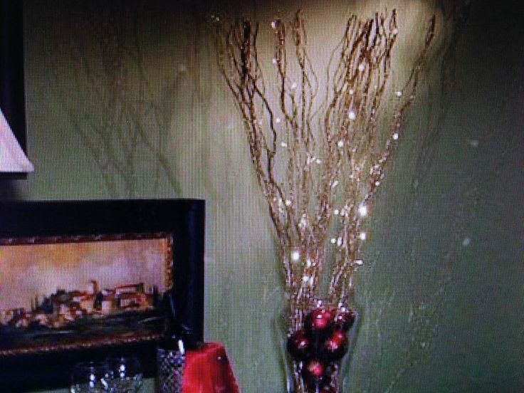 bethlehem lights battery operated glitter twig branches with timer h1. Black Bedroom Furniture Sets. Home Design Ideas
