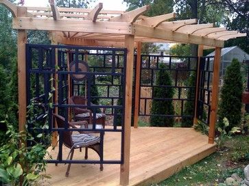 asian inspired pergola - asian - patio - new york - The Holistic ...