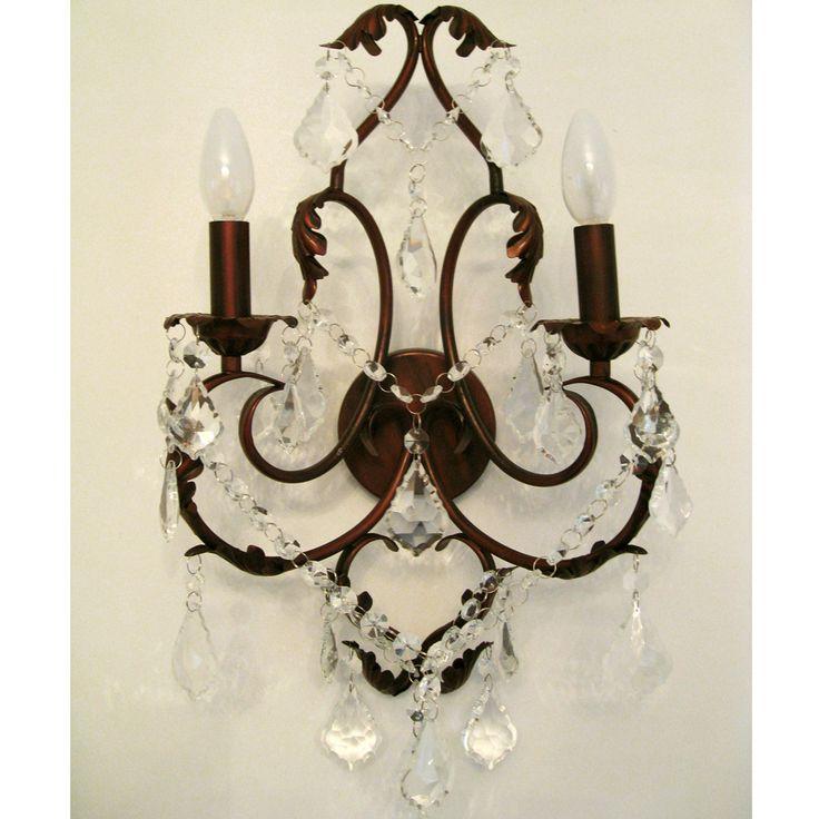 Bronze Bedroom Wall Sconces : Romantica Bronze Wall Sconce Wall Sconces / Wall Lights Lighting French Bedroom Company ...