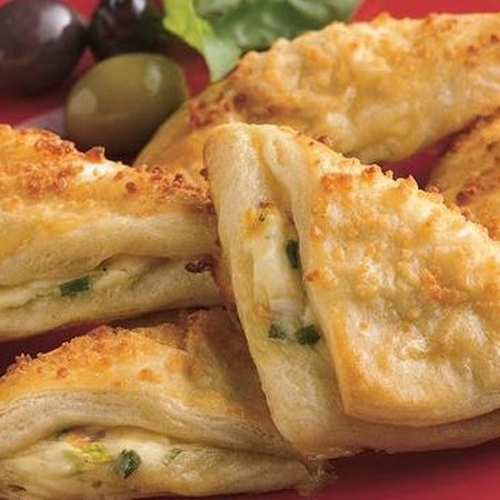 Cheese Crescent Triangles | Recipes | Pinterest