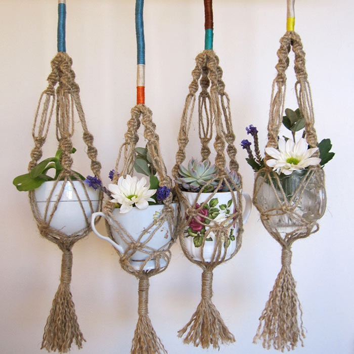 Macrame Plant Hangers What Else Can You Make With