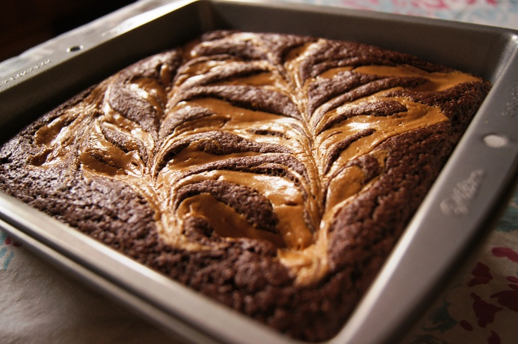 Peanut butter swirl dutch cocoa brownies | Recipes | Pinterest