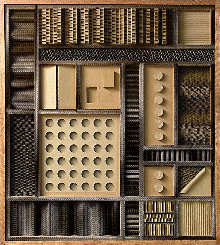 Гофрированное искусство от Марка Лангана (Mark Langan). Комментарии : LiveInternet - Российский Сервис Онлайн-Дневников