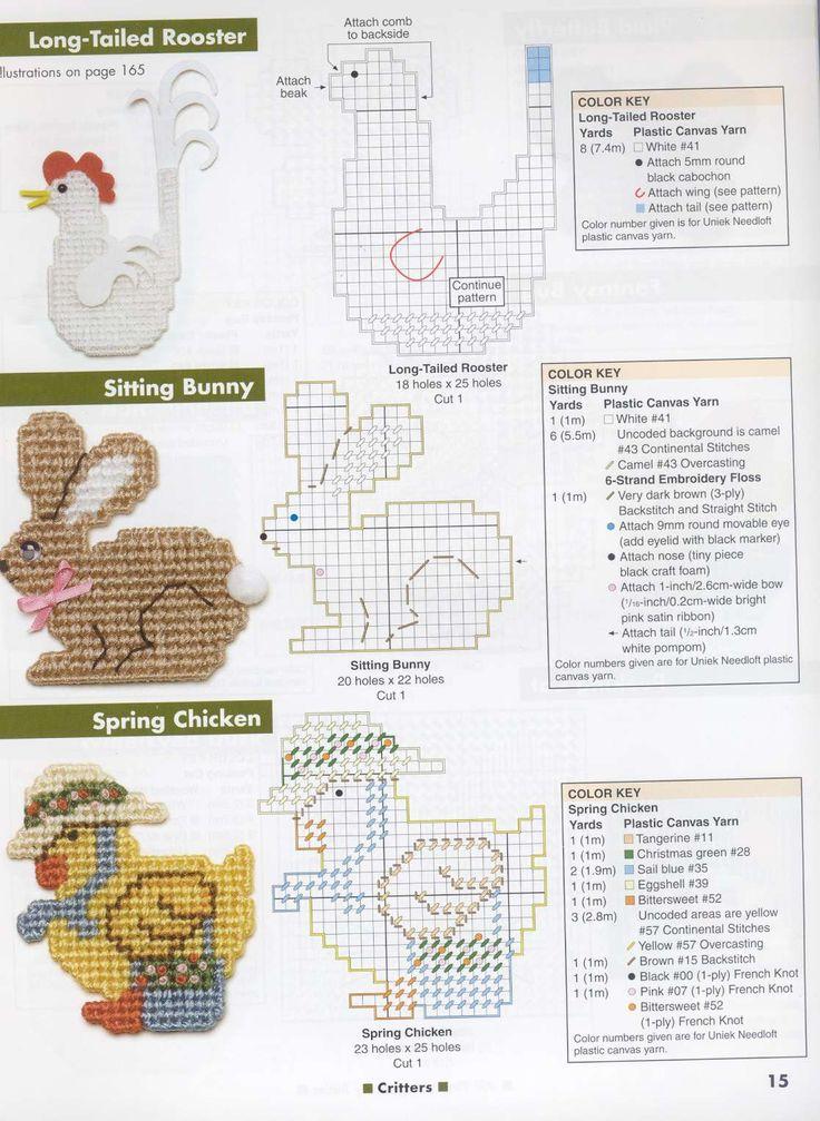Схемы для вышивки на пластиковой канве 54