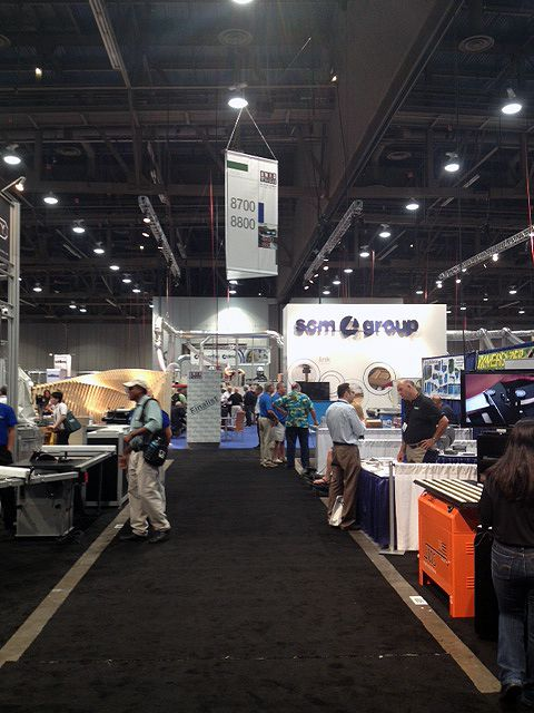of # Woodworking and #Furnishings Suppliers Fair in Las Vegas
