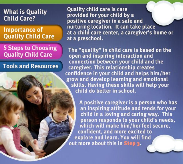 choosing quality child care The guide, choosing quality child care in pennsylvania can help you make the best decision for you and your child the guide, choosing quality child care in pennsylvania is also available in spanish .