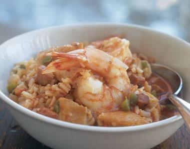 Jambalaya with Shrimp, Chicken and Ham | RECIPES | Pinterest