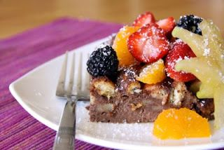 And then I do the dishes: TWD - Four Star Chocolate Bread Pudding