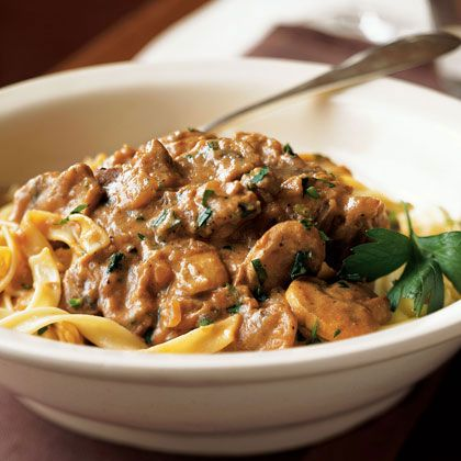 Classic Beef Stroganoff Will make this beef stroganoff, but will use ...