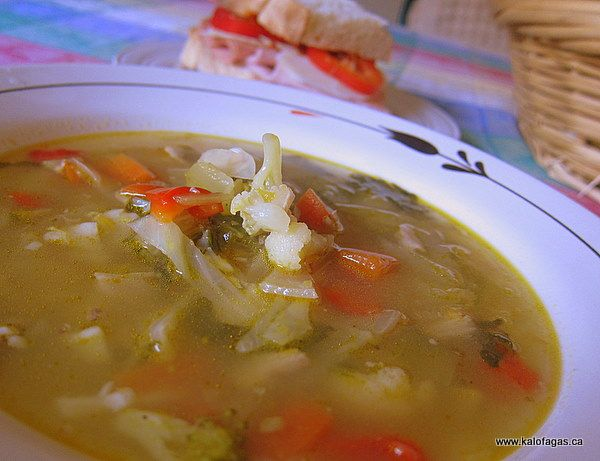 hearty winter vegetable soup | {Soups, Stews, Chili} | Pinterest