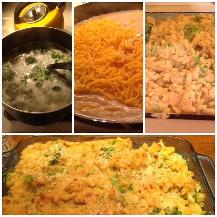 Skinny Mac cheese and broccoli very easy and good recipe is on ...