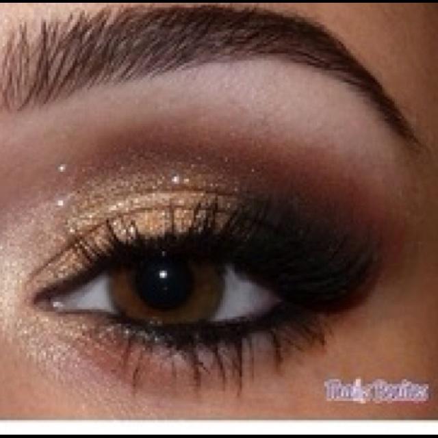 Brown smokey eye | makeup and nails | Pinterest
