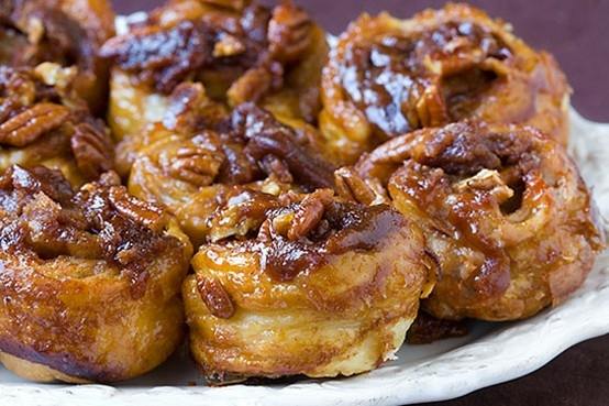 cinnamon-sticky-buns | food | Pinterest