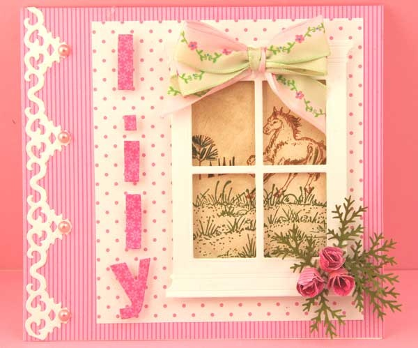 Joan's Gardens - Another window card