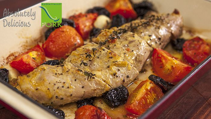 Roast Pork Fillet with Prunes | Recipes: Dinner | Pinterest