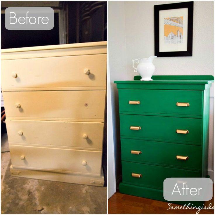Dresser Before And After Furniture Redo Pinterest