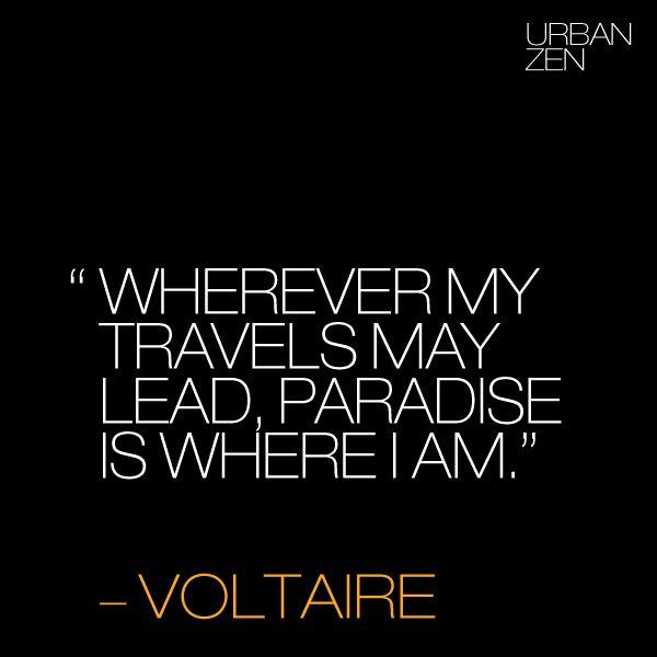 UrbanZen #Quote #Voltaire