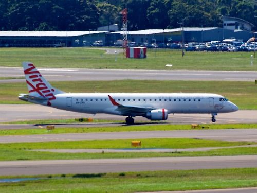 Virgin australia airlines embraer erj 190 type embraer erj 190 100igw