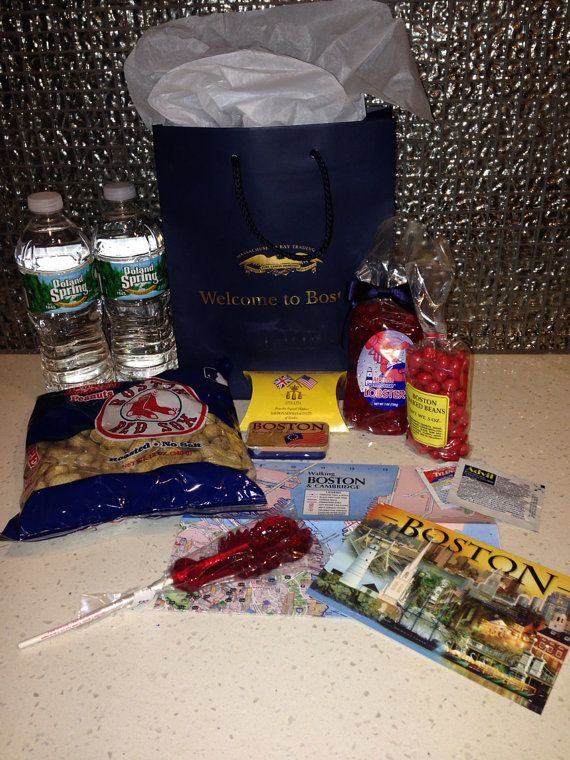 Boston Welcome Bags for Family & Friends