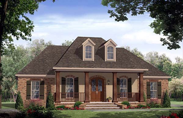 European French Country Tuscan House Plan 59167