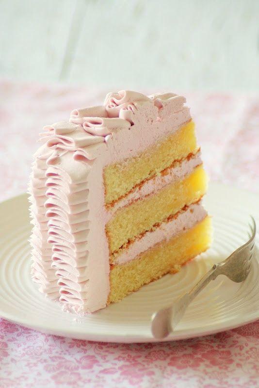 lemon raspberry cake   Food - Cakes   Pinterest