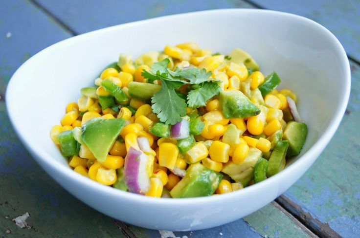 Old House to New Home : Corn and Avocado Salsa