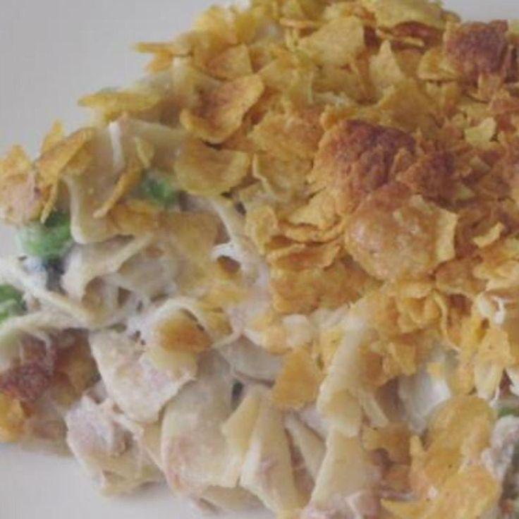 Creamy Tuna Noodle Casserole | Casseroles | Pinterest