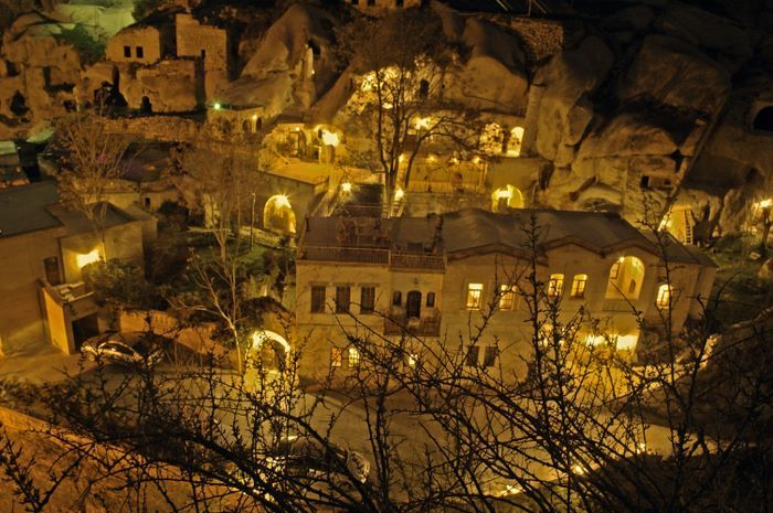 Would love to stay in the Cave Hotel too.